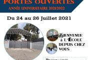 Portes ouvertes année universitaire 2021/2022