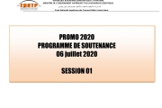 Planning Soutenances 2019/2020 Session 1